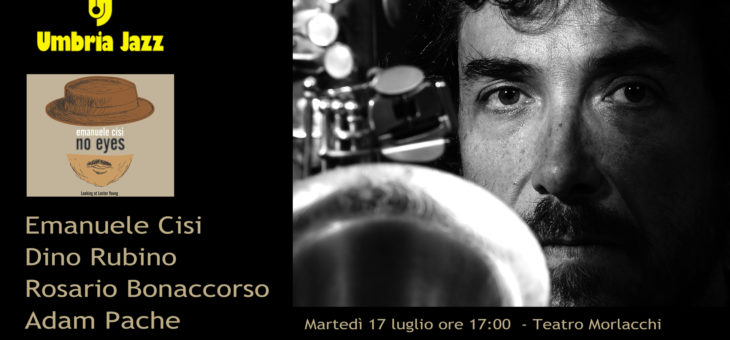 Emanuele Cisi a Umbria Jazz