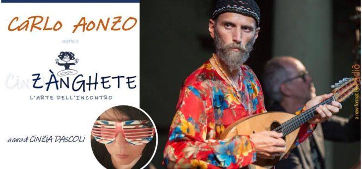 """Carlo Aonzo a """"Zànghete – l'arte dell'incontro"""" on-live su Radiò"""