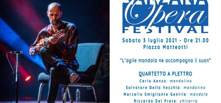 """Sarzana Opera Festival – Carlo Aonzo e il """"Quartetto a Plettro"""""""